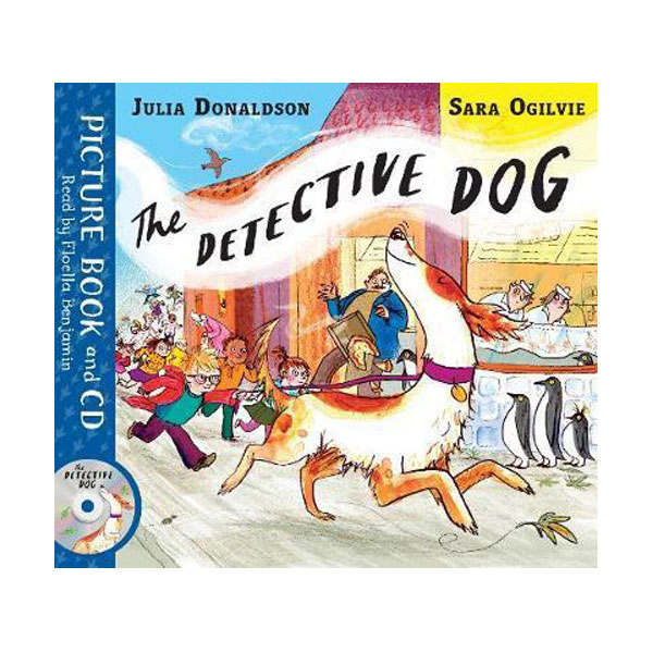 The Detective Dog (Book & CD, 영국판)