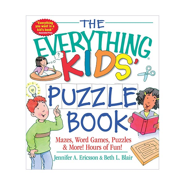 The Everything Kids' Puzzle Book (Paperback)