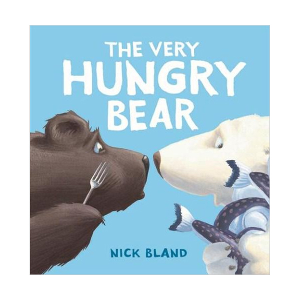 The Very Hungry Bear (Book & CD)