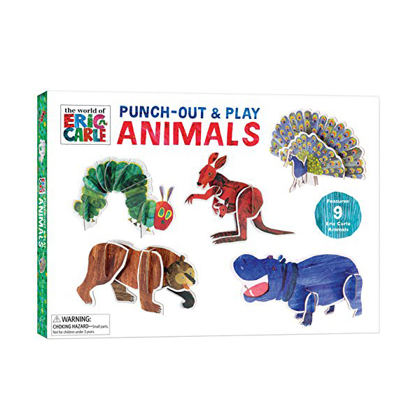 The World of Eric Carle : Punch-Out & Play Animals (Toy)