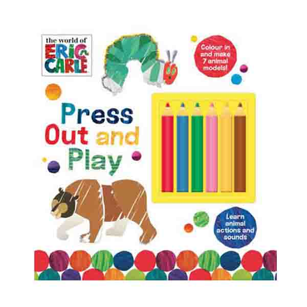 The World of Eric Carle Press Out and Play (Paperback)