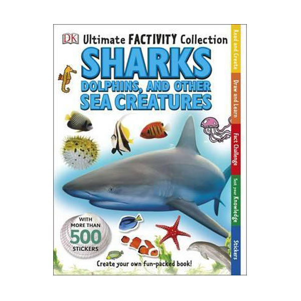 Ultimate Factivity Collection : Sharks, Dolphins and Other Sea Creatures (Paperback, 영국판)