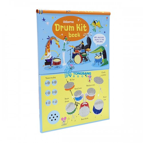 Usborne : Drum Kit Book (Hardcover, Sound Book, 영국판)