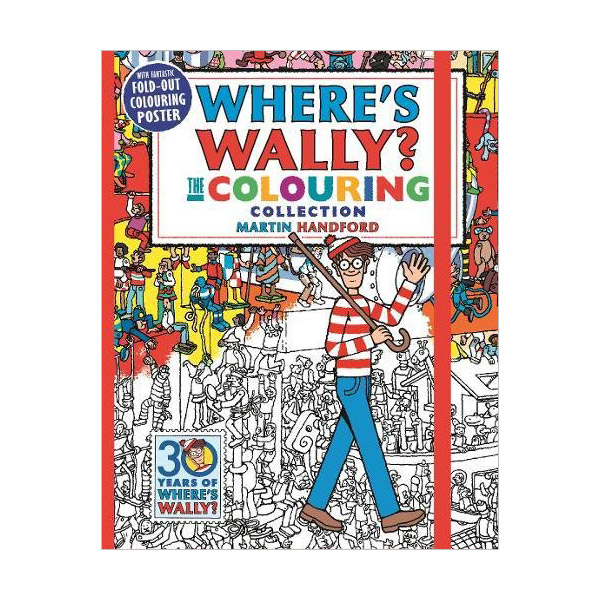 Where's Wally? The Colouring Collection (Paperback)