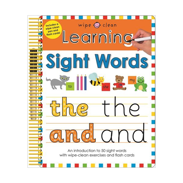 Wipe Clean Learning Sight Words (Spiral-bound, 영국판)