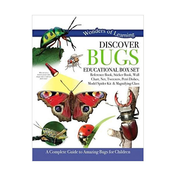 Wonders of Learning : Discover Bugs - Educational Box Set (Hardcover)