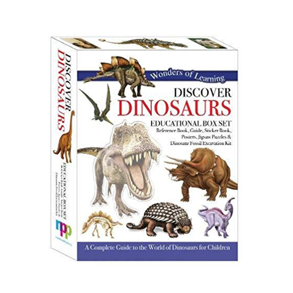 Wonders of Learning : Discover Dinosaurs - Educational Box Set (Hardcover, 영국판)