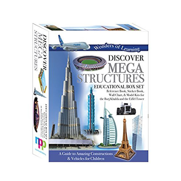 Wonders of Learning : Discover Mega Structures - Educational Box Set (Hardcover)