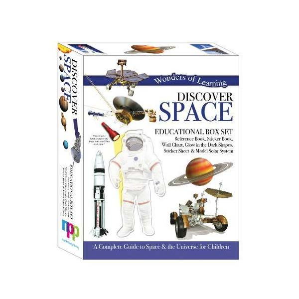 Wonders of Learning : Discover Space - Educational Box Set (Hardcover)