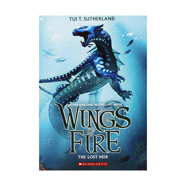 Wings of Fire #02 : The Lost Heir (Paperback)