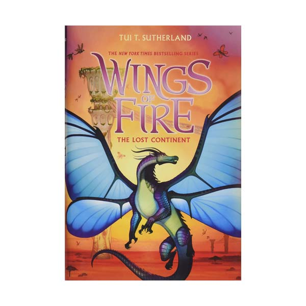 RL 5.4 : Wings of Fire Series #11 : The Lost Continent (Hardcover)