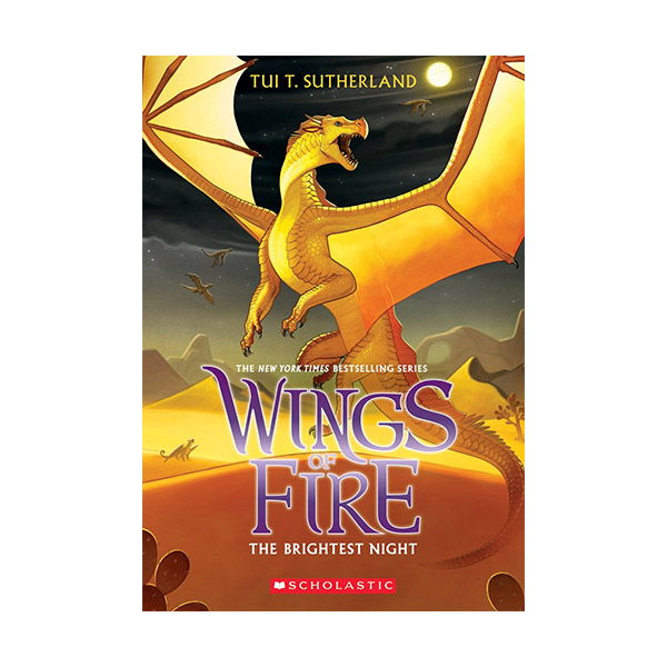 [스콜라스틱]  Wings of Fire #05 : The Brightest Night (Paperback)