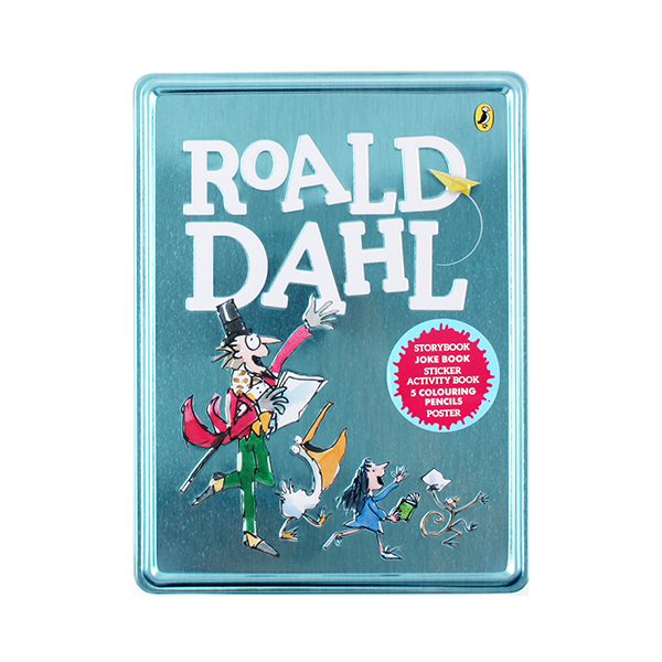 로알드 달 : Roald Dahl Book and Tin (Tin case)
