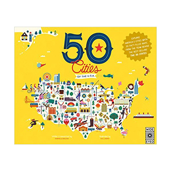 50 Cities of the U.S.A. (Hardcover)