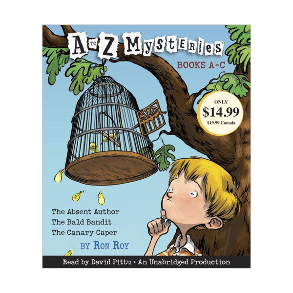 A to Z Mysteries : Books A-C (Audio CD, Unabridged Edition)
