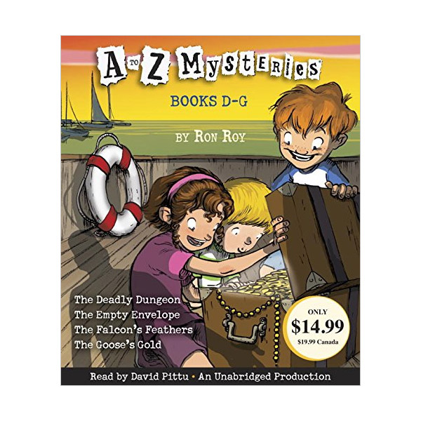 A to Z Mysteries : Books D-G (Audio CD, Unabridged Edition)(도서미포함)