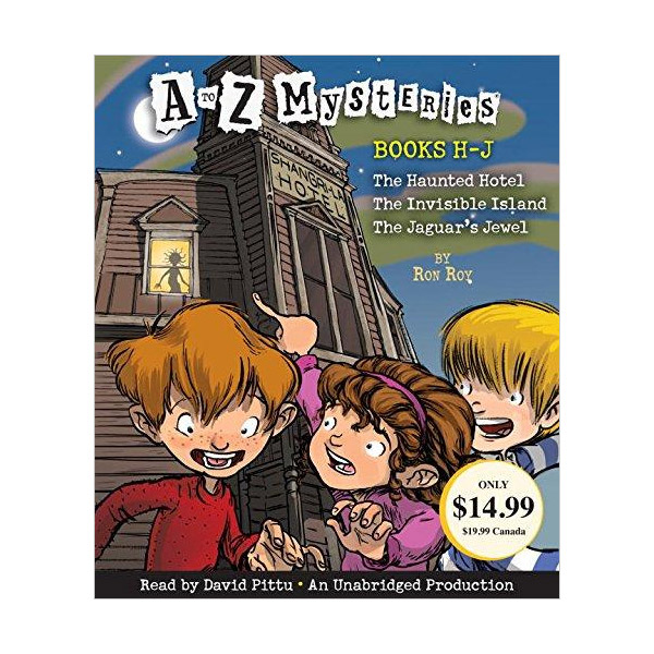 A to Z Mysteries : Books H-J (Audio CD, Unabridged Edition)(도서미포함)