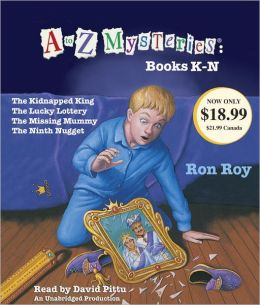 A to Z Mysteries : Books K-N (Audio CD, Unabridged Edition)(도서미포함)