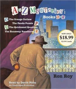 A to Z Mysteries : Books O-R (Audio CD, Unabridged Edition)(도서미포함)
