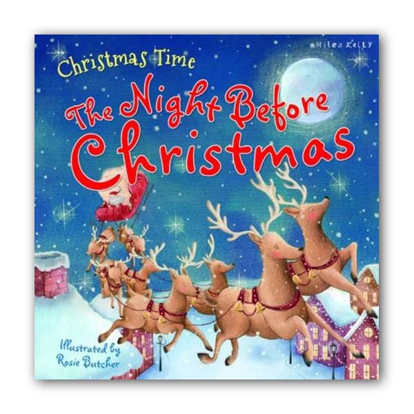 Christmas Time the Night Before Christmas (Paperback, 영국판)