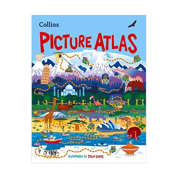 Collins Picture Atlas (Hardcover, 영국판)