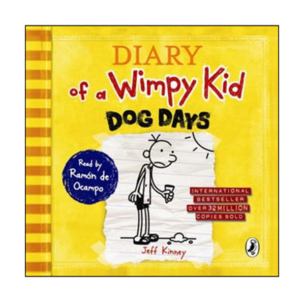 Diary of a Wimpy Kid #4 : Dog Days (Audio CD,영국판)