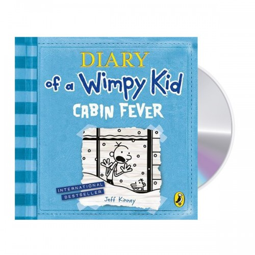 Diary of a Wimpy Kid #6 : Cabin Fever (Audio CD,영국판)