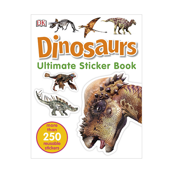 Dinosaurs Ultimate Sticker Book (Paperback, 영국판)