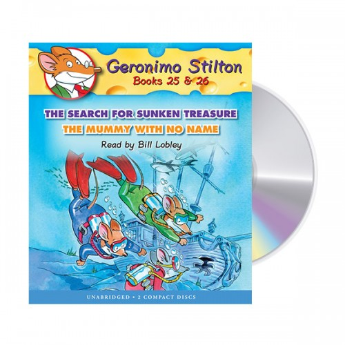 Geronimo Stilton #10 : Books 25-26 (Audio CD)
