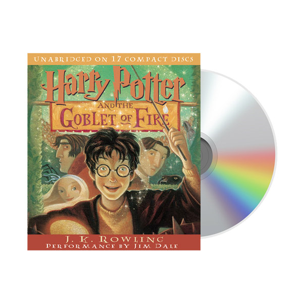 Harry Potter #4 : Harry Potter and the Goblet of Fire (Audio CD)