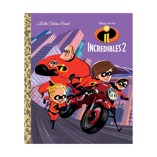 Incredibles 2 Little Golden Book (Hardcover)