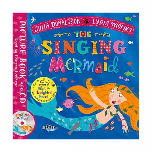 Julia Donaldson : The Singing Mermaid (Book & CD, 영국판)