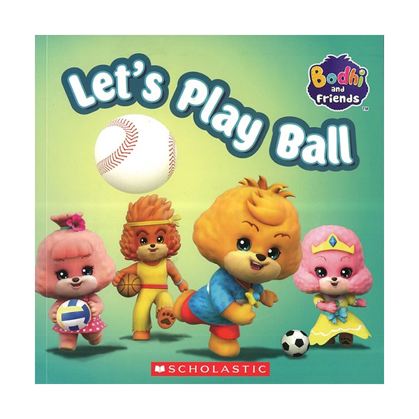 Let's Play Ball : Bodhi and Friends With DVD (Paperback + DVD)