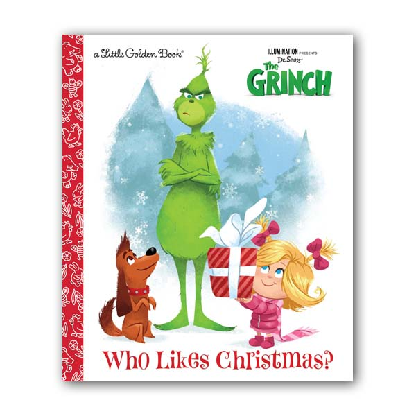 Little Golden Book : Illumination's The Grinch : Who Likes Christmas? (Paperback)