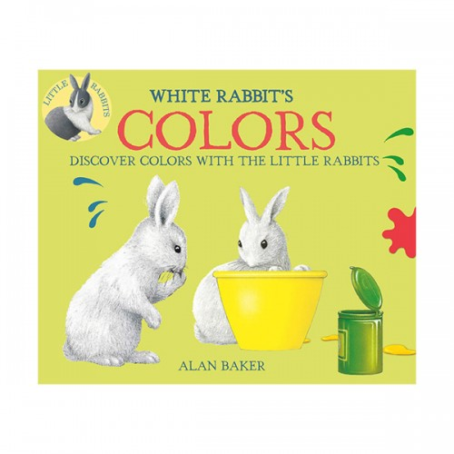 Little Rabbit Books : White Rabbit's Colors (Paperback)