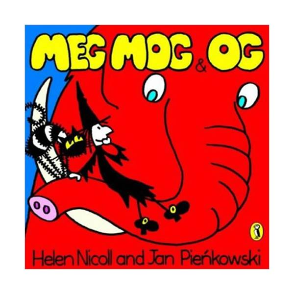 Meg and Mog: Meg, Mog and Og (Paperback)