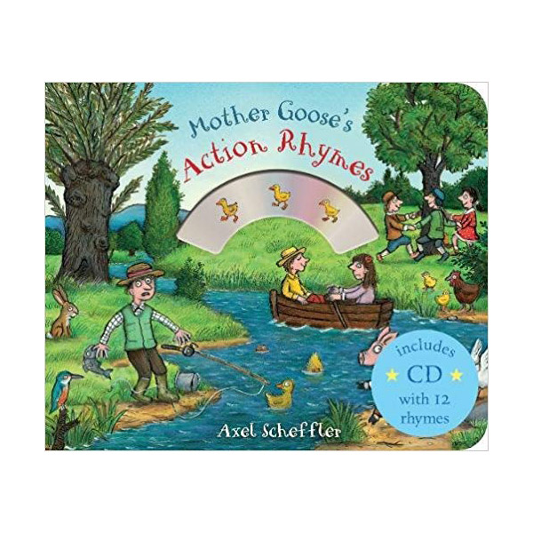 Mother Goose's Action Rhymes (Book & CD, 영국판)