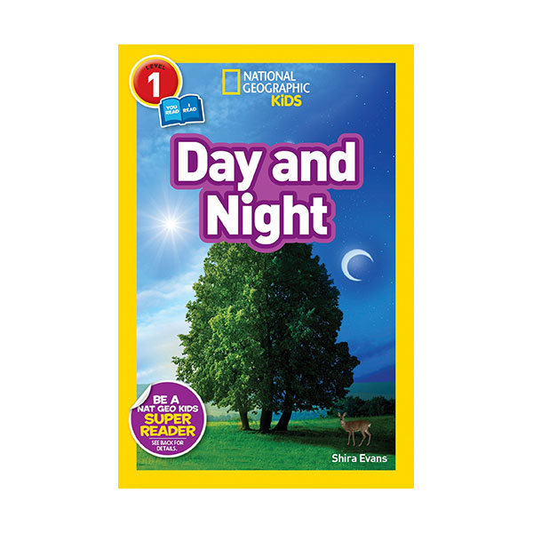 National Geographic Kids Readers Level 1 : Day and Night (Paperback)