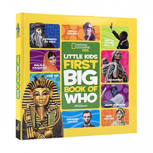 National Geographic Little Kids First Big Book of Who (Hardcover)
