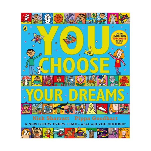 Nick Sharratt : You Choose Your Dreams (Paperback, 영국판)