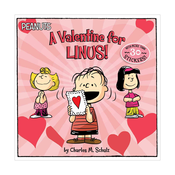 Peanuts : A Valentine for Linus! (Paperback)