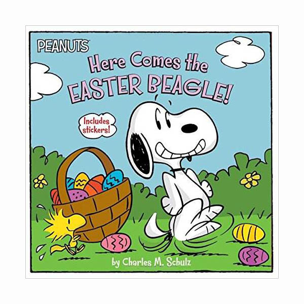Peanuts : Here Comes the Easter Beagle! (Paperback)