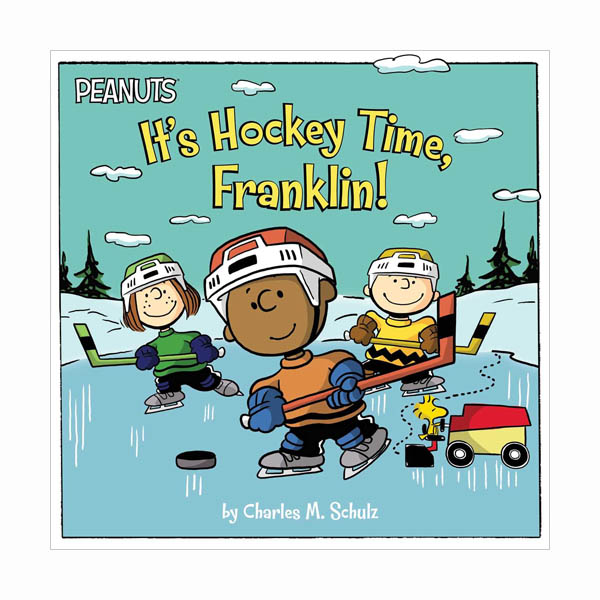 Peanuts : It's Hockey Time, Franklin! (Paperback)