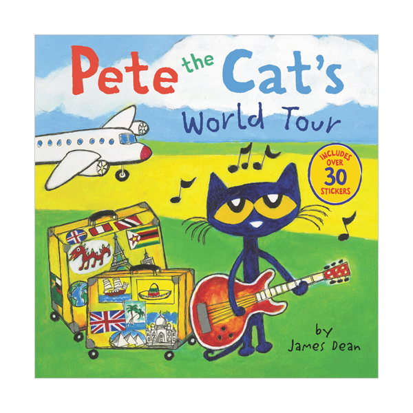 Pete the Cat : Pete the Cat's World Tour  (Paperback)