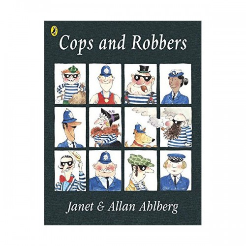 Picture Puffin : Cops and Robbers (Paperback)