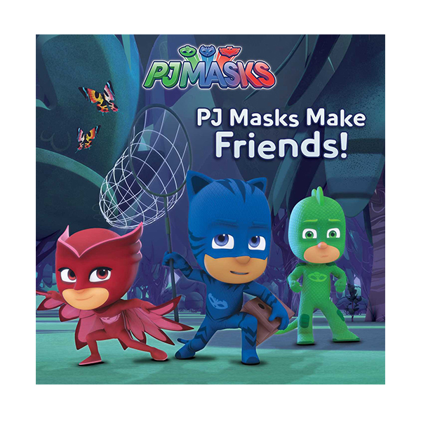 PJ Masks Make Friends! (Paperback)