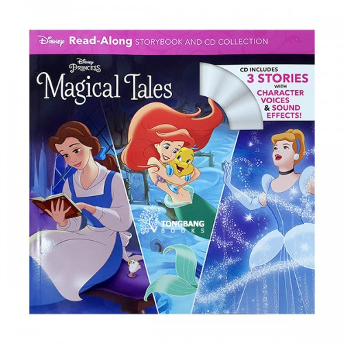 Read-Along : Disney Princess Magical Tales (Book & CD)