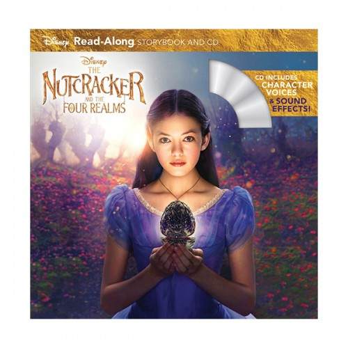 Disney Read-Along Storybook : The Nutcracker and the Four Realms : 호두까기 인형과 4개의 왕국 (Book & CD)