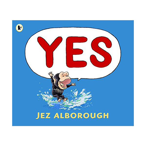 RL 0.2 : Jez Alborough : Yes (Paperback)