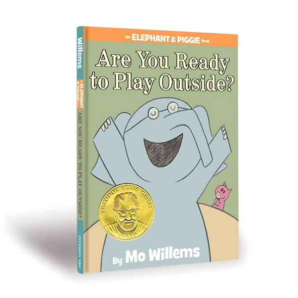 Elephant and Piggie : Are You Ready to Play Outside? (Hardcover)